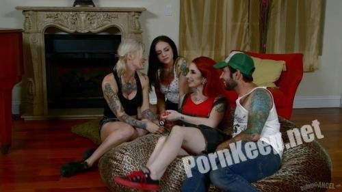 [Joanna Angel, BurningAngel] Kleio Valentien, Sheena Rose, Necro Nicki (BBQ Titmasters Part 4 - All You Can Eat American Orgy from All About That Orgy /24-06-2015) (FullHD 1080p, 1.89 GB)