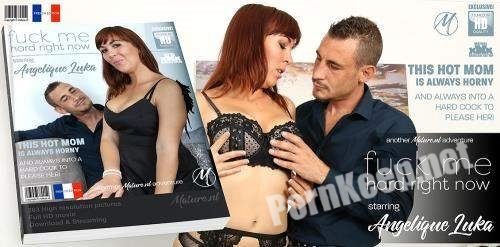 [Mature.nl] Angelique Luka (EU) (31) - Hot mom fooling around with the cock from her lover / 13540 (SD 540p, 429 MB)
